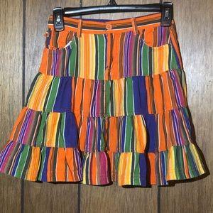 Kids Children's Place Size 8 skirt vibrant colors
